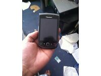 Blackberry torch 9800 black unlocked looks new black