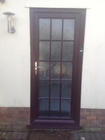 EXTERNAL OUTSIDE DOOR UPVC