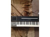 CASIO ANALOGUE SYNTH 202 KEYBOARD EARLY 80s SOLID BUILT TONS OF FEATURES