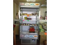 Display fridge for shop - can display cold drinks, cakes, fruit, salad and veg etc etc