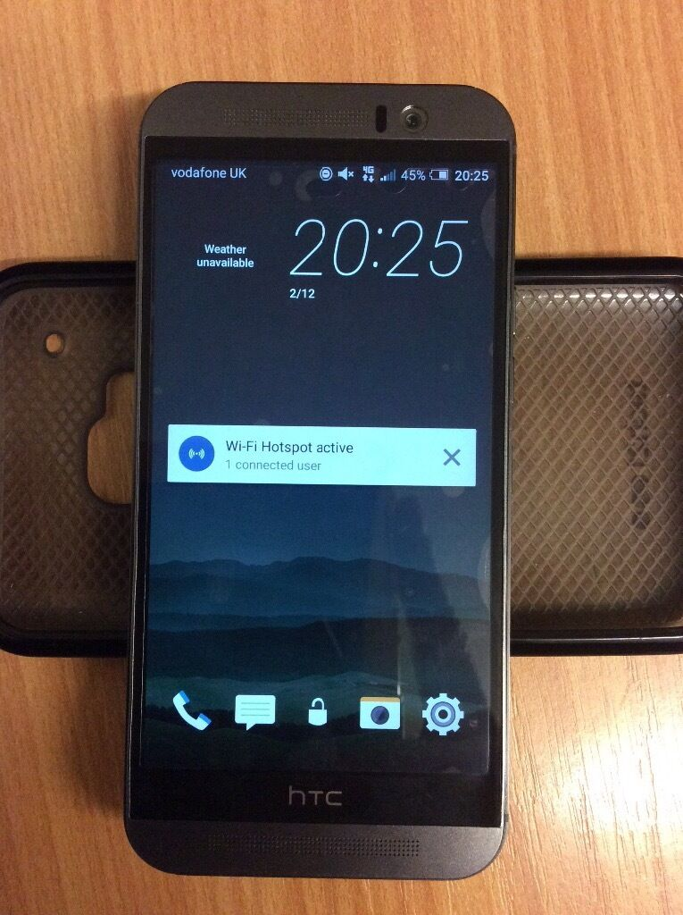 HTC ONE M9 unlockedin Crewe, CheshireGumtree - HTC ONE M9 unlocked boxed with charger and cases. Its got a very small crack on the screen and on the back camera lens (doesnt affect photos or screen in any way) other than the cracks the phone is in mint condition! SWAPS for another decent phone on...