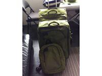 2 Carlton Suitcases plus Carlton Backpack
