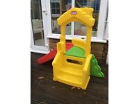 Little Tikes child slide with steps