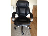 Leather office/computer chair