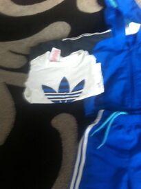 Addiddas boys track suit