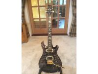 PRS 408 artist pack, mint condition, OHSC, tags, etc - faded whale blue!
