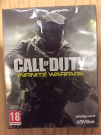 Call Of Duty Infinite Warfare Standard Edition w/ Extra Content and Pin Badges PS4 Game New Sealed