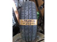 175-65-14 Bridgestone B361 82T 4mm Part Worn Tyre