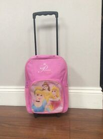 Disney princess wheeled suitcase with telescopic handle. Excellent condition