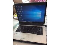 Toshiba Satellite Windows 10 laptop T5800 Intel Core 2 Duo 2.0GHz 4GB RAM 250GB HDD