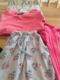 Boden outfit, skirt, top and knitted leggings