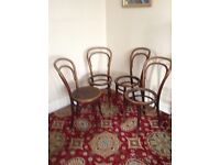 Bentwood chairs. Project