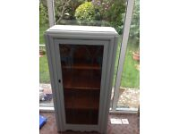 Glass fronted Shabby Chic Cabinet