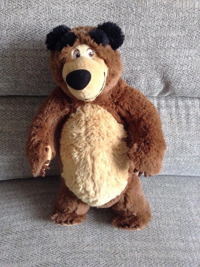 Masha and the Bear teddy