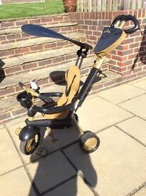 Smart Trike Black and Gold