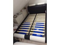 Modern Small Double Bed