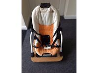 Rocker seat for baby