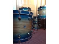DW drum workshop collectors exotic 5 piece S.S.C