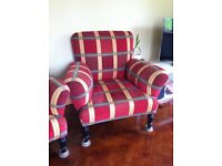 2 Antique French Armchairs