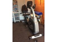 Heavy duty Recumbent exercise bike excellent condition