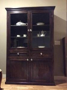 Western hutch/ display cabinet