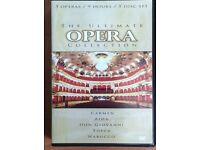 DVD, The Ultimate Opera Collection. 5 DVDs - Carmen, Aida, Don Giovanni, Tosca, Nabucca
