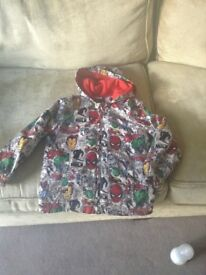 Marvel jacket 6-7 years