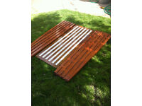 Yacht Lay Boards Mahogany for bench covers