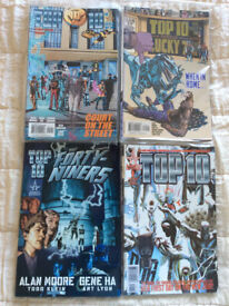 Alan Moore Top 10 complete set plus hardback The Forty Niners