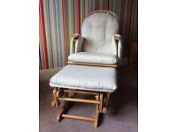 Beautiful glider nursery chair