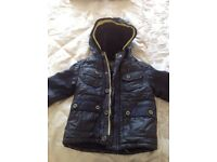 Boys ted baker coat age 2-3