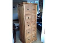Cabinet 10 drawer
