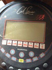 Carl Lewis running machine bargain