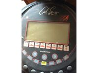 Carl Lewis running machine bargain