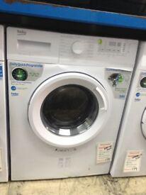Beko 7kg 1400spin washing machine. £179. 12 month Gtee