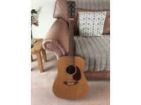 Martin DX1 USA Made Acoustic Guitar. Fitted with K&K passive preamp