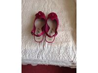 Pink M & S ladies shoes size 4