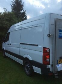 Volkswagen crafter for sale with tail lift
