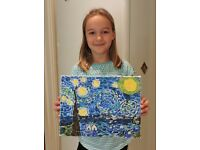 art-K art club for children and adults