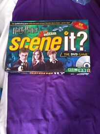 Harry Potter scene it board game