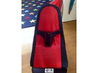 Baby Bjorn red/black bouncer -great condition £45