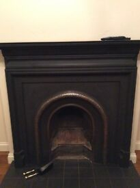 Palmerston Lytton Arch Cast Iron Fireplace and Grate