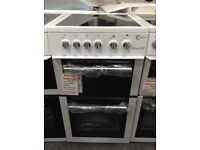 Flavel Milano E50 white cooker £225 new/graded 12 month Gtee