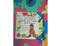 Baby and toddler meal planner A Karmel