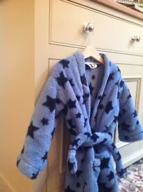 M&S kids dressing gown