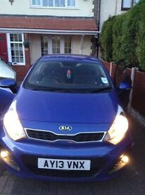 Excellent condition, 3-door Kia Rio, 2013 reg