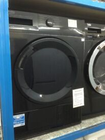 Beko 7kg black condensing tumble dryer. £189 new/graded 12 month Gtee