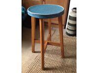 Vintage 1950s kitchen stool