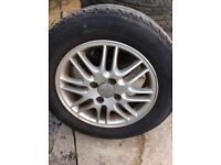 Ford Focus Alloy Wheels & Tyres