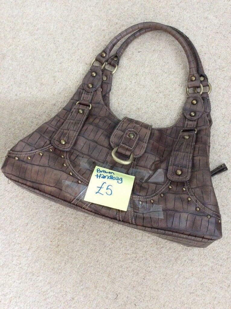 Brown Handbag Mercer Madison Brand